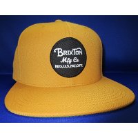 BRIXTON WHEELER SNAPBACK (COPPER)