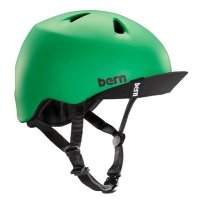 BERN MACON MATTE KELLY GREEN VISOR